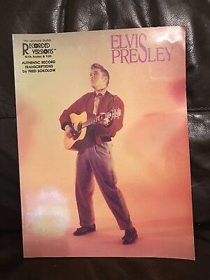Elvis presley rare sheet music book 1988 picclick uk for Songs from 1988 uk