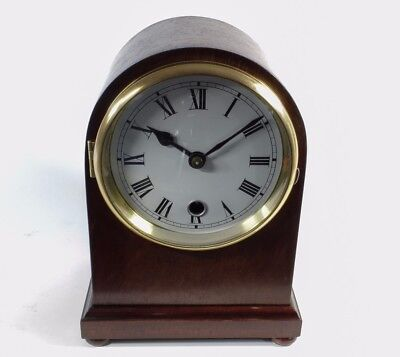 Mahogany Mantle Clock Nice Condition (Fully Serviced)