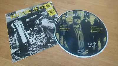 """Machine Head - Old (Burn My Eyes) 1995 Limited Edition 10"""" Picture Disc EPsingle"""