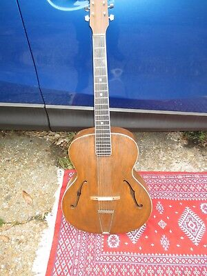1930s Archtop Acoustic Guitar
