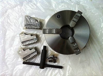 3 Jaw Self Centering Metal Lathe Chuck - 165mm