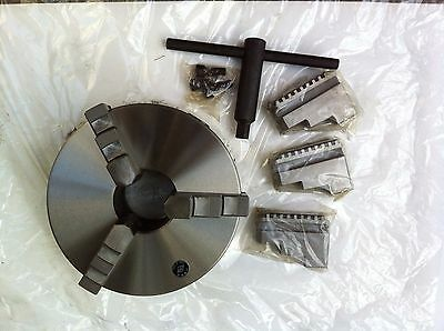3 Jaw Self Centering Metal Lathe Chuck - 200mm