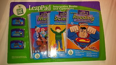 2LeapFrog LeapPad Game Cartridges 3-pack - Grades 1-3 Ages 6-8