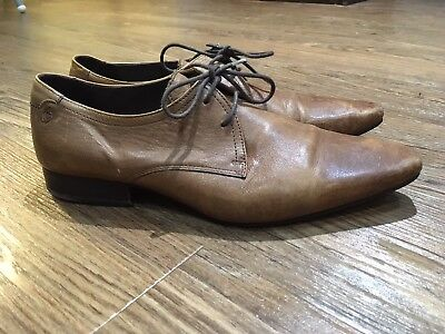 Gibson Tan Leather Shoe