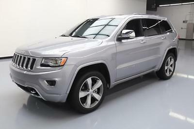 2015 Jeep Grand Cherokee Overland Sport Utility 4-Door 2015 JEEP GRAND CHEROKEE OVERLAND 4X4 PANO ROOF NAV 27K #797435 Texas Direct