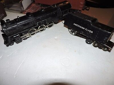 American Flyer S Scale  4-6-0  Steam Loco/tender # 290 In Need Of Overhaul