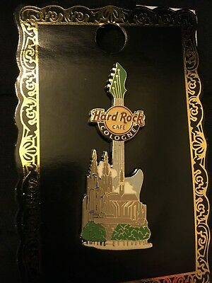 Hard Rock Cafe COLOGNE Germany Core Guitar Cathedral PINS Collectibles