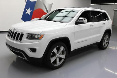 2014 Jeep Grand Cherokee Limited Sport Utility 4-Door 2014 JEEP GRAND CHEROKEE LTD SUNROOF NAV LEATHER 56K MI #409926 Texas Direct