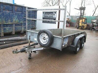 Ifor Williams Gd105 Twin Axle Ramp Tail Gate Trailer