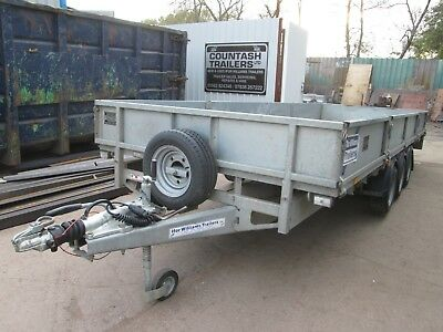 Ifor Williams Lm186 Tri Axle Drop Side Trailer