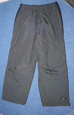 Youth     NIKE   Nylon    Athletic   Pants      full zip legs    Small    8