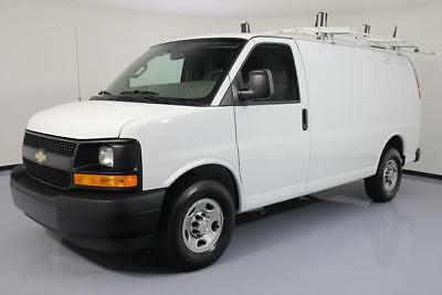 2017 Chevrolet Express  2017 CHEVY EXPRESS 2500 CARGO PARTITION LADDER RACK 22K #110933 Texas Direct