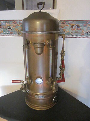 T J TOPPER COMMERCIAL Coffee Maker  1930's 40's