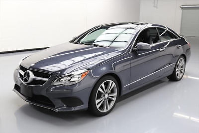 2014 Mercedes-Benz E-Class Base Coupe 2-Door 2014 MERCEDES-BENZ E350 COUPE PREM 1 SUNROOF NAV 21K MI #266667 Texas Direct