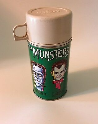 The Munsters Thermos For Lunchbox 1965 Kayro Vue
