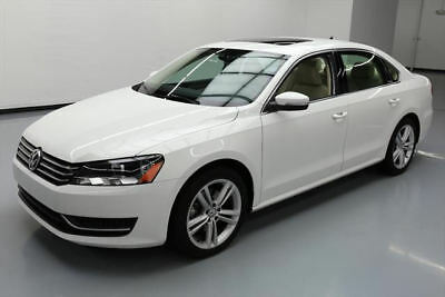2014 Volkswagen Passat  2014 VOLKSWAGEN PASSAT SE TURBO SUNROOF REAR CAM 35K MI #111217 Texas Direct