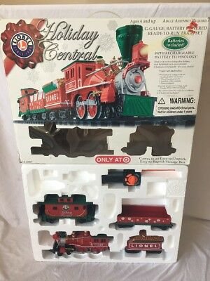 LIONEL Holiday Central TRAIN TARGET Exclusive Christmas Train Set