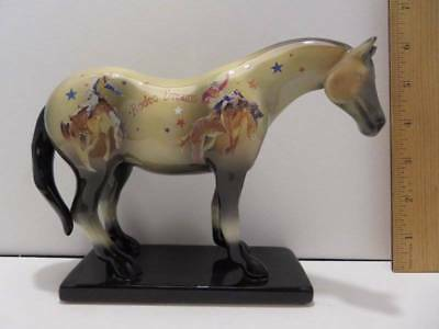 """The Trail of Painted Ponies """" Rodeo Dream """" 2E/7093 Jim Knaue #12213 2005"""