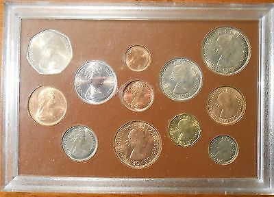 1967 Great Britain Complete Decimal And The £.s.d Issue 12 Pieces Coin