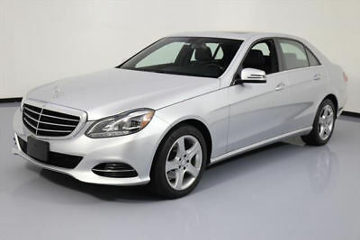 2014 Mercedes-Benz E-Class 4Matic Sedan 4-Door 2014 MERCEDES-BENZ E350 LUXURY AWD P1 SUNROOF NAV 31K #052778 Texas Direct Auto