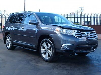 2012 Toyota Highlander V6  Limited 2012 Toyota Highlander V6 Limited Repairable Salvage Loaded with Options L@@K!