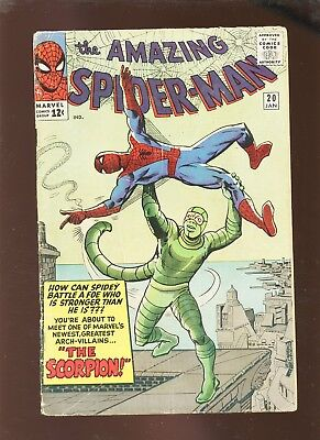 Amazing Spider-Man 20 PR 0.5 * 1 Book Lot * 1st Scorpion!!!