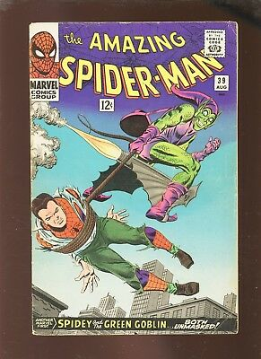 Amazing Spider-Man 39 VGFN 5.0 * 1 Book Lot * Green Goblin!!!