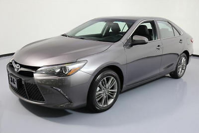 2016 Toyota Camry  2016 TOYOTA CAMRY SE REARVIEW CAM ALLOY WHEELS 37K MI #580950 Texas Direct Auto
