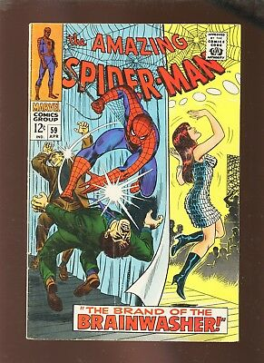 Amazing Spider-Man 59 VG+ 4.5 * 1 Book Lot * 1st Slade!!!