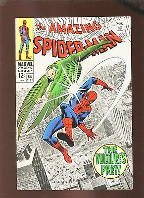 Amazing Spider-Man 64 VF 8.0 * 1 Book Lot * Both Vultures!!!