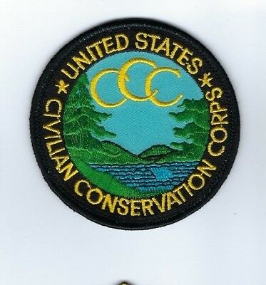 RARE US United States Civilian Conservation Corps CCC patch - NEW!