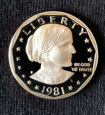 1981-S Susan B Anthony Coin Dollar $1 Possible Type 2 SBA