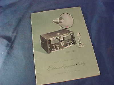 1948 MONTGOMERY WARD ELECTRONIC EQUIPMENT Advertising SALES CATALOG