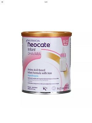 1 Can Of Neocate Infant Formula with DHA/ARA, 14.1 oz