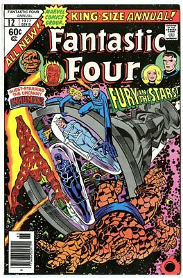 Fantastic Four Annual #12 NM 9.4  The Inhumans  Marvel  1977  No Reserve