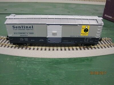 MTH  # 466013 B&O Box Car American Flyer Compatible S Gauge