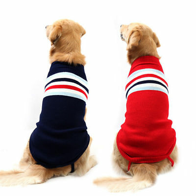 Cozy Winter Dog Sweater Large Knitted Labrador Dog Coat Jacket Sweatshirt 2XL 3X