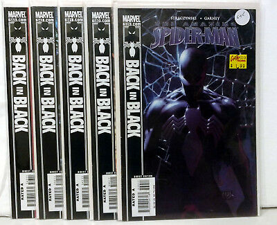 Amazing Spider-Man Lot Back in Black Complete Run 539 - 543 VF