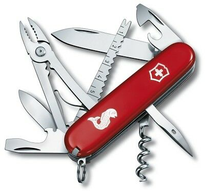 Victorinox Angler with Pliers Red Swiss Army Knife 1.3653.72
