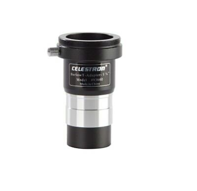 "Celestron 1.25"" Universal Barlow Lens and T-Adapter 93640"