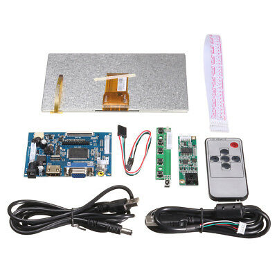 7 inch HDMI HD 1024x600 Touch Screen Display Module Board Kits For Raspberry Pi