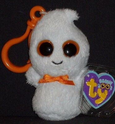 1d8f872b8a4 TY BEANIE BOOS ~ GHOSTY the Halloween Ghost (Medium ~ 9-10 Inch ...