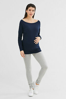 NEW Esprit  Smart stretch cotton sweatshirt NIGHT BLUE