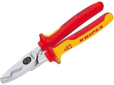 KNP.9516200 Cutters for copper and aluminium cables Cond.cross 9516200 KNIPEX
