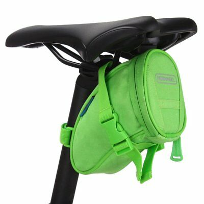 Dampproof Waterproof Practical Bicycle Cycling Under Seat Bag Tail Pouch Green