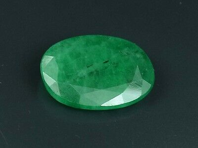 Ring Size Emerald  ! 3.70 Cts. 100 % Natural Zambian Emerald Oval Cut Loose Gems