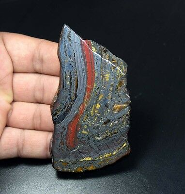 314.80 Cts. 100% Natural Multi Iron Tiger Slice For Making Cabochons