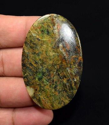 Unique ! 65.05 Cts. 100 % Natural Serpentine Opalite Oval Cab For Silver Pendant