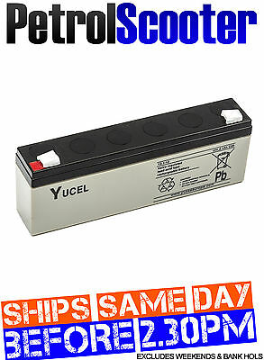 Yuasa NP2.1-12 12v 2.1Ah Y2.1-12 Rechargeable Alarm Panel Battery Sealed Fire
