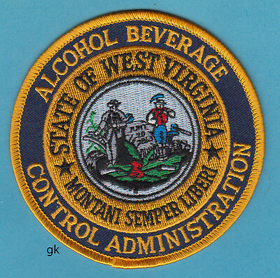 West Virginia Abc Alcohol Control Beverage Police Shoulder Patch
